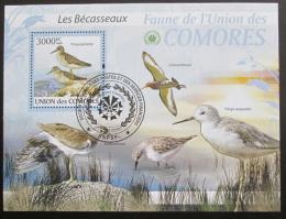 Poštovní známka Komory 2009 Ptáci Mi# Block 517 Kat 15€
