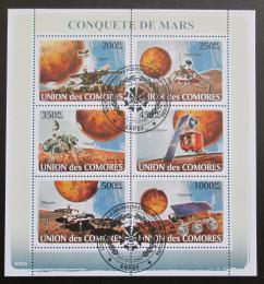 Poštovní známky Komory 2008 Prùzkum Marsu Mi# 1946-51 Kat 13€