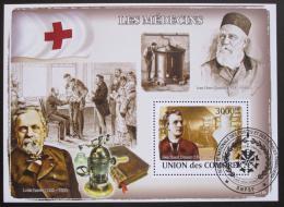 Poštovní známka Komory 2009 Lékaøi Mi# Block 455 Kat 15€ - zvìtšit obrázek