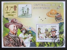 Poštovní známka Komory 2009 Skauting Mi# Block 458 Kat 15€
