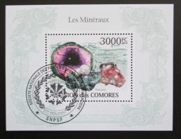 Poštovní známka Komory 2009 Minerály Mi# Block 562 Kat 15€ - zvìtšit obrázek