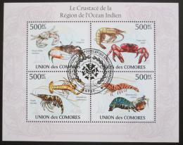 Poštovní známky Komory 2009 Korýši Mi# 2672-75