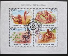Poštovní známky Komory 2009 Pravìký èlovìk Mi# 2722-25 - zvìtšit obrázek
