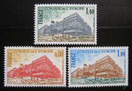 Poštovní známky Francie 1977 Rada Evropy Mi# 20-22