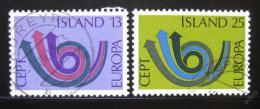 Poštovní známky Island 1973 Evropa CEPT Mi# 471-72