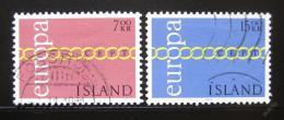 Poštovní známky Island 1971 Evropa CEPT Mi# 451-52
