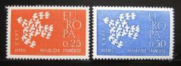 Poštovní známky Francie 1961 Evropa CEPT Mi# 1363-64