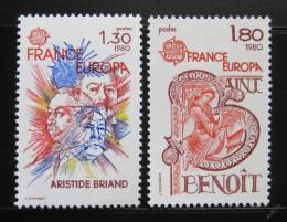 Poštovní známky Francie 1980 Evropa CEPT Mi# 2202-03
