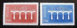 Poštovní známky Francie 1984 Evropa CEPT Mi# 2441-42