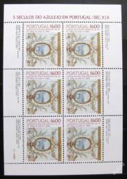 Poštovní známky Portugalsko 1984 Ozdobné kachlièky Mi# 1640
