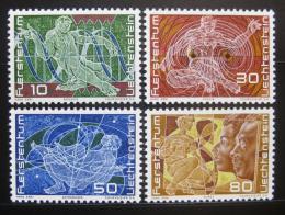 Poštovní známky Lichtenštejnsko 1969 Výroèí vzniku Mi# 508-11