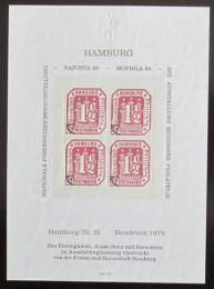 Vinìta Nìmecko 1978 Novotisk známky Hamburg Mi# 21