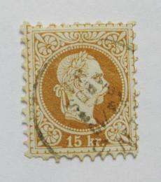 Poštovní známka Rakousko 1874 Franz Josef Mi# 39 I A
