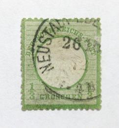 Poštovní známka Nìmecko 1872 Císaøský orel Mi# 2 Kat 50€