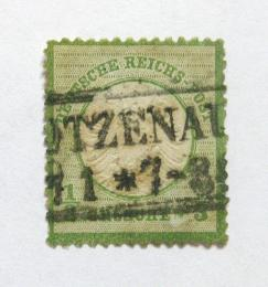 Poštovní známka Nìmecko 1872 Císaøský orel Mi# 17