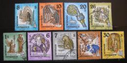 Poštovní známky Rakousko 1993-95 Kláštery nekompl.