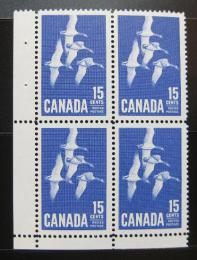 Poštovní známky Kanada 1963 Husy, 4blok Mi# 357