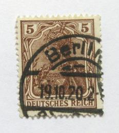 Poštovní známka Nìmecko 1920 Germania Mi# 140