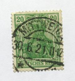 Poštovní známka Nìmecko 1920 Germania Mi# 143