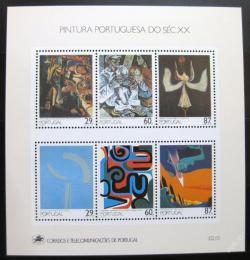 Poštovní známky Portugalsko 1989 Umìní Mi# Block 68