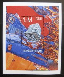 Poštovní známka DDR 1978 Prùzkum vesmíru Mi# Block 52