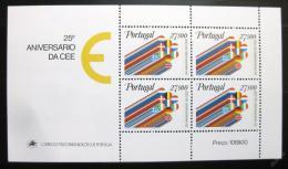 Poštovní známky Portugalsko 1982 Evropská ekonomická komunita Mi# Block 34