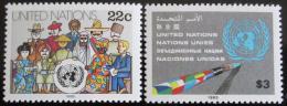Poštovní známky OSN New York 1985 Lidé svìta Mi# 468-69