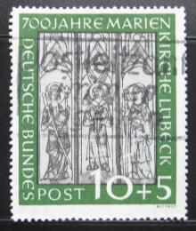 Poštovní známka Nìmecko 1951 Fresky Mi# 139 Kat 80€