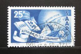 Poštovní známka Sársko 1950 Vstup do Rady Evropy Mi# 297