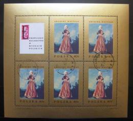 Poštovní známky Polsko 1967 Umìní, A. Watteau Mi# 1809 Arch