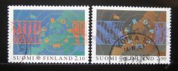 Poštovní známky Finsko 1991 Evropa CEPT Mi# 1144-45