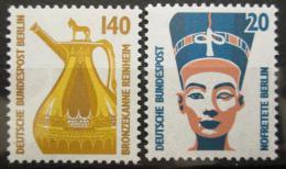Poštovní známky Západní Berlín 1989 Pamìtihodnosti Mi# 831-32