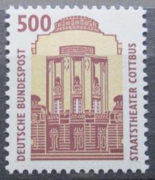 Poštovní známka Nìmecko 1993 Státní divadlo, Cottbus Mi# 1679
