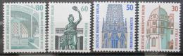 Poštovní známky Západní Berlín 1987 Pamìtihodnosti Mi# 793-96 Kat 7€