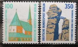 Poštovní známky Západní Berlín 1989 Pamìtihodnosti Mi# 834-35 Kat 7€