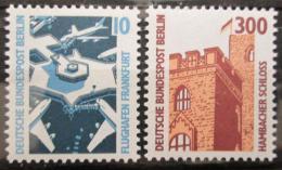 Poštovní známky Západní Berlín 1988 Pamìtihodnosti Mi# 798-99