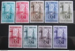 Poštovní známky Venezuela 1951 Znak Zulia, RARITA Mi# 701-09 Kat 110€
