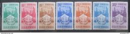Poštovní známky Venezuela 1951 Znak Carabobo, RARITA Mi# 678-84 Kat 60€