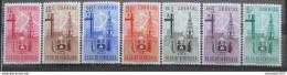Poštovní známky Venezuela 1951 Znak Zulia, RARITA Mi# 694-700 Kat 75€