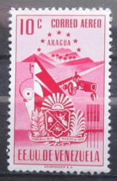Poštovní známka Venezuela 1952 Znak Aragua Mi# 749