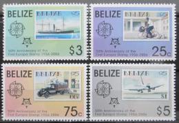 Poštovní známky Belize 2006 Výroèí Evropa CEPT Mi# 1303-06