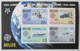 Poštovní známky Belize 2006 Výroèí Evropa CEPT Mi# Block 102