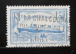 Poštovní známka Francie 1936 S. S. Normandie Mi# 316
