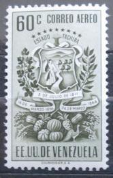 Poštovní známka Venezuela 1951 Znak Tachira, vzácná Mi# 673 Kat 30€