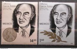 Poštovní známky Mexiko 1982 Alfonso Robles Mi# 1854-55