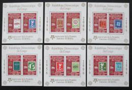 Poštovní známky Kongo Dem., Zair 2005 Evropa CEPT Mi# Bl 249-54 Kat 50€
