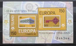 Poštovní známky Island 2006 Výroèí Evropa CEPT Mi# Block 39