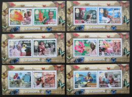 Poštovní známky Guinea 2006 Evropa CEPT Mi# Bl 915-20 Kat 50€