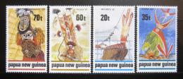Poštovní známky Papua Nová Guinea 1989 Masky Mi# 602-05