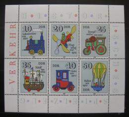 Poštovní známky DDR 1980 Hraèky Mi# 2566-71